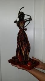 paverpollal készült szobrok