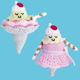 elkészítem kedvenc fagyid horgolt babának!